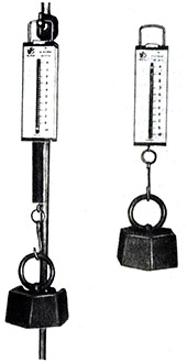 Показания весов в невесомости