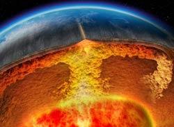 Конвекционные потоки Земли
