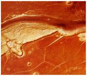 Фото долины Касэй на Марсе